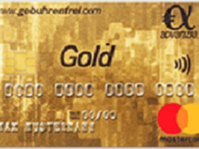 die Gebührenfrei Gold MasterCard von Advanzia Bank
