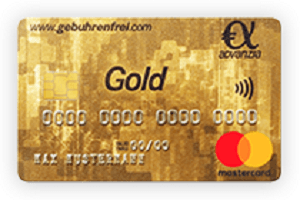 بطاقة ماستر كارد الذهبية الأصلية من أدفانسيا بنك جولد ماستر كارت