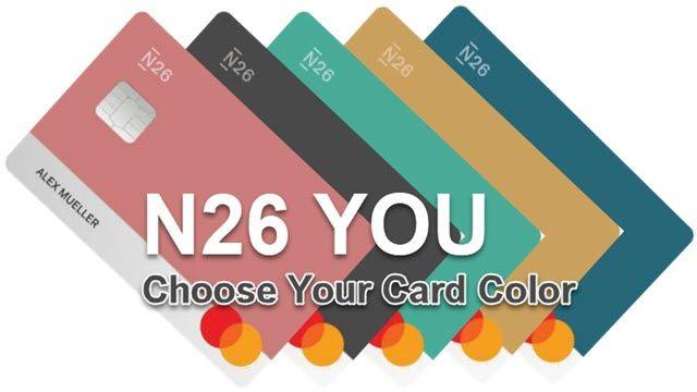 N26 YOU Mastercard