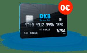 فتح حساب بنكي مجاني مع فيزا كارد لدى DKB بنك