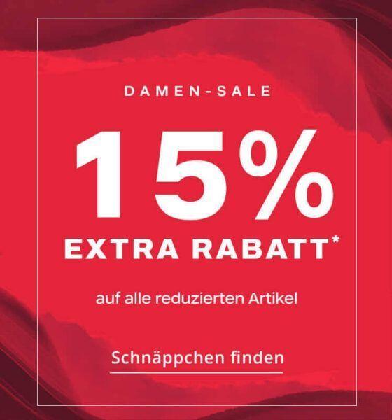 15% Extra Rabatt!