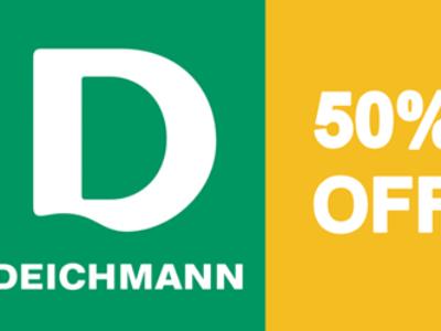Deichmann Online Sale – Bis zu 50% OFF!
