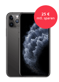 <strong>Apple iPhone 11 Pro<br>im O<sub>2</sub> Free Unlimited Max</strong>