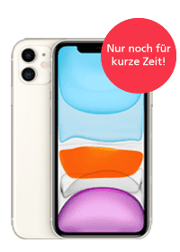 <strong>Apple iPhone 11<br>im O<sub>2</sub> Free M</strong>