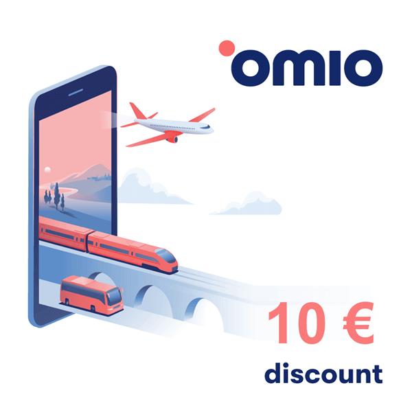 Omio Discount Code 2020: 10 € Omio Rabatt for your next trip!